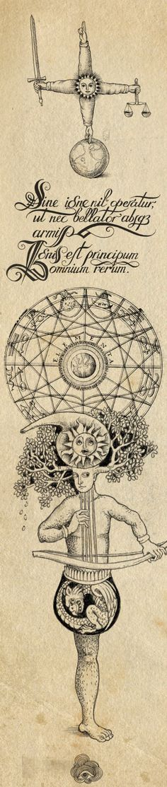 THE ALCHEMIST BY SVETA DOROSHEVA, CONTEMPORARY ALCHEMIST ILLUSTRATION, VIA BEHANCE