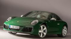 It's a 2017 Porsche 911 Carrera S, painted in Irish Green and designed to mirror some details from the very first 911 from 1963. And when it rolled off the assembly line in Zuffenhausen today, it became the one-millionth Porsche 911.