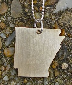 Ooooh, hot off the presses - AR state charms from www.robinsonlane.com (click on necklaces).  So cute!!!