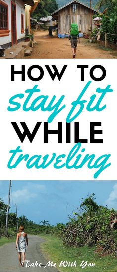 Staying fit while traveling is a breeze with these exercises. Stay fit with this anytime, anywhere travel workout.