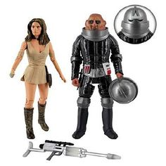 Dr Who Invasion of Time Action Figure Set