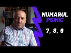 Numarul Psihic   Cifra Psihica 7, 8 si 9   Psiho-numerologie - YouTube Peace, Youtube, Sobriety, Youtubers, Youtube Movies, World