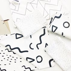 Monochrome Pattern // Zana Products Cape Town