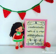 Bom dia!!! 😄😄😄😄  #amigurumi #ateliedaje #doll #amigurumidoll #crochetdesign #crochet  #croche