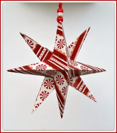 Christmas Star 1 PrePackaged Star Gift Wrapped Star by PricklyPaw, $7.50