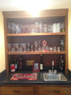Finished and all put back together! Liquor Cabinet, Kitchen Remodel, It Is Finished, Storage, Furniture, Home Decor, Home, Ideas, Purse Storage