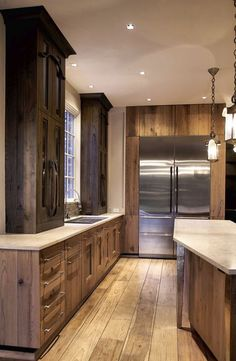 Mark Hickman Homes | Rustic Kitchen