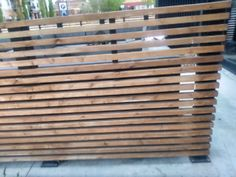 Steel and. Cedar fence#cedar #fence #steel Hydroponic Gardening, Hydroponics, Cedar Fence, Outdoor Venues, Types Of Plants, Small Gardens, Growing Plants, Pick One, Indoor Garden
