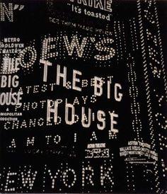 Walker Evans: Times Square (Broadway Composition), 1930.