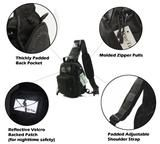 TravTac Stage II Sling Bag, Premium Small EDC Tactical Sling Pack 900D – Features - TravTac.com
