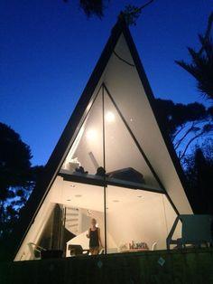 A Frame Cabin, Gorgeous Modern Design!