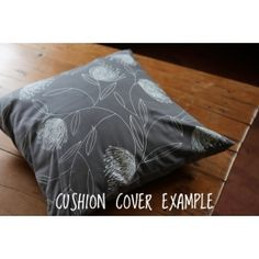 Pincushion Whirl Cushion Cover – White on Grey | Buy Online in South Africa | MzansiStore.com