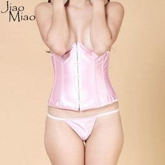Jiao Miao All Size Body Shapewear Women Gothic Clothing Underbust Waist Cincher Sexy Bridal Corsets and Bustiers
