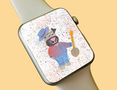 Watch Wallpaper / Apple Watch / FitBit / Smartwatch / Watch Background Best Apple Watch, Apple Watch Faces, Wallpaper Backgrounds, Iphone Wallpaper, Fitbit App, Share Icon, Apple Watch Wallpaper, Super Cute Animals, Android Smartphone