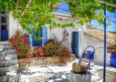 At The La Storia. A Wonderful beach taverna at St Nicholas Port Zakynthos  Photography by Alistair Ford