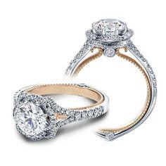 Verragio Couture-0426R-TT 18 Karat Engagement Ring About $4,050.00