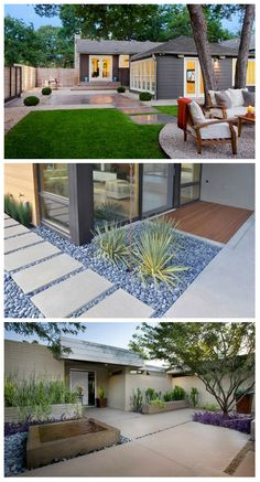 15 Modern Hardscapes Using Concrete     Like what we always said, the outdoor space is one area that homeowners take care of especially if they want to spend more time outside. That is why the yard or the garden is not left with mere bushes or even weeds. They are given attention and are...