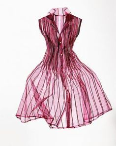Sheer Fabric Dress (for visual reference only - access to instructions limited to magazine subscribers)