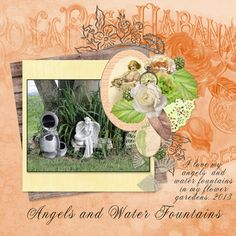 Summer Romance Collab by #ADBDesigns - theStudio Gallery Collection only $11.99 for ALL 9 products! Angels and Water Fountains LO by Faye - theStudio Gallery
