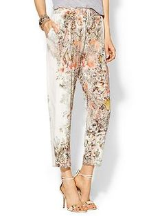 Haute Hippie Silk Floral Pant  Piperlime