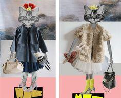 cute clothes, cute kitties