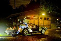 DeLorean Doc's garage