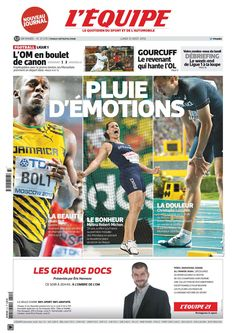 L'Equipe – Lundi 12 Août 2013 French | 20 Pages | True PDF | 9.25 Mb