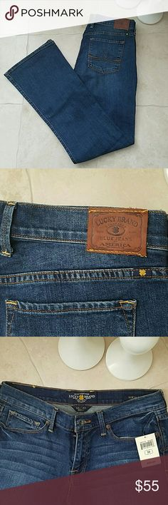 NEW Lucky Brand Boot Cut Jeans 99% Cotton, 1% Spandex Lucky Brand Jeans Boot Cut