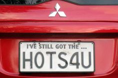 License plate in New Zealand
