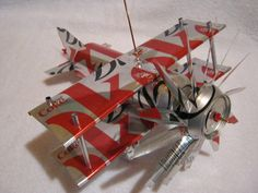Handmade Diet Coke can plane airplane cool by CANARTCRAFTS2204, $15.00