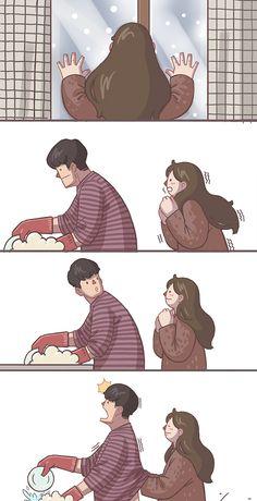 Dadorables Illustrations De Couple Qui Vous Donneront Des Frissons 20 Images