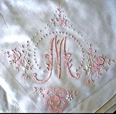 "beautiful embroidery and applique ... ""Repinned by Keva xo""."