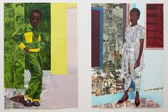Informed by art historical and literary sources, Njideka Akunyili Crosby's complex, multi-layered works reflect contemporary transcultural identity. Combining drawing, painting and collage on paper, Akunyili Crosby's large-scale figurative compositions are drawn from the artist's memories and experiences. She uses the visual language and inherited traditions of classical academic western painting,...