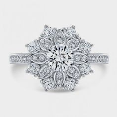 The Best Breathtaking Vintage Engagement Rings Collections (59)