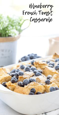 Blueberry French Toast Casserole – The most beautiful recipes Best Breakfast Recipes, Brunch Recipes, Dessert Recipes, Desserts, Breakfast Ideas, Morning Breakfast, Eat Breakfast, Summer Recipes, Holiday Recipes