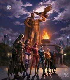 Heroes Dc Comics, Arte Dc Comics, Dc Comics Characters, Robin Comics, Superman Artwork, Superman Wallpaper, Mundo Superman, Steel Dc Comics, Death Of Superman