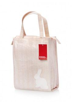 Tasje Elegant Bunny small - Engel. - BijzonderMOOI* - Dutch design