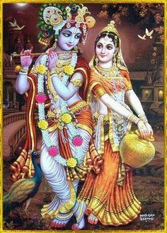 Radha. Krishna
