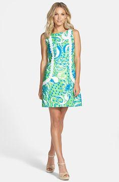 Lily Pulitzer Preppy Spring Print * Under $150 * Kentucky Derby Dresses * #kentuckyderby