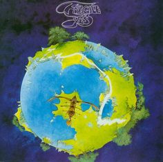 "Yes ""Fragile"" Atlantic Records SD 7211 12"" LP Vinyl Record, US Pressing (1971) Gatefold Album Cover Art & Design by Roger Dean Yes Album Covers, Greatest Album Covers, Classic Album Covers, Music Album Covers, Music Albums, Lp Cover, Cover Art, Lps, Progressive Rock"