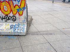 Die Spur der Berliner Mauer.                        Morgane Cognet