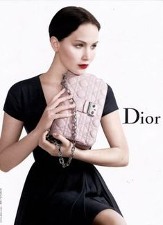 Jennifer Lawrence by Willy Vanderperre for Miss Dior Spring 2013 campaign