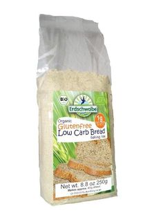 Erdschwalbe Organic Gluten-free Low-Carb Bread, baking mix, 8.8 Oz., (Pack of 3):Amazon:Grocery  Gourmet Food