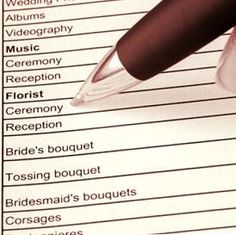 How to plan a wedding in a month...might have good tips to get things done fast. ;)