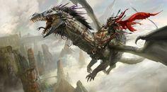 Fantasy Illustration by Kekai Kotaki