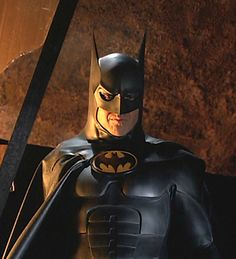 Micheal Keaton: the one Batman that can legitimately smile in the cape and cowl..... he brought such vulnerability........he's the best!