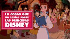 10 Cosas que no sabías sobre las Princesas Disney | Oh My Disney