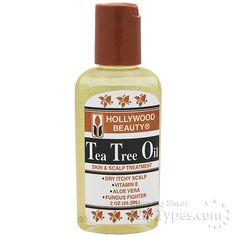 Hollywood Beauty Tea Tree Oil 2oz [2350]
