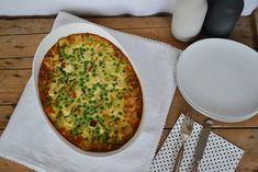Ofenomelette mit Hähnchen und Gemüse