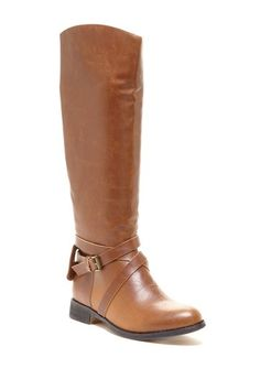 Equestrian Style Boot.